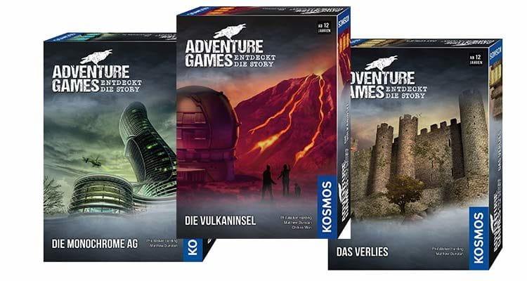 Spielreihe Adventure Games