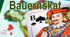 Bauernskat ist Skat für zwei Spieler