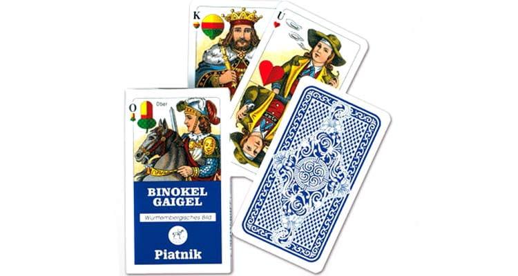 Binokel Kartenspiel von Piatnik