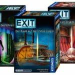 Auswahl der Reihe Exit - Das Spiel