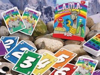 Kartenspiel Lama