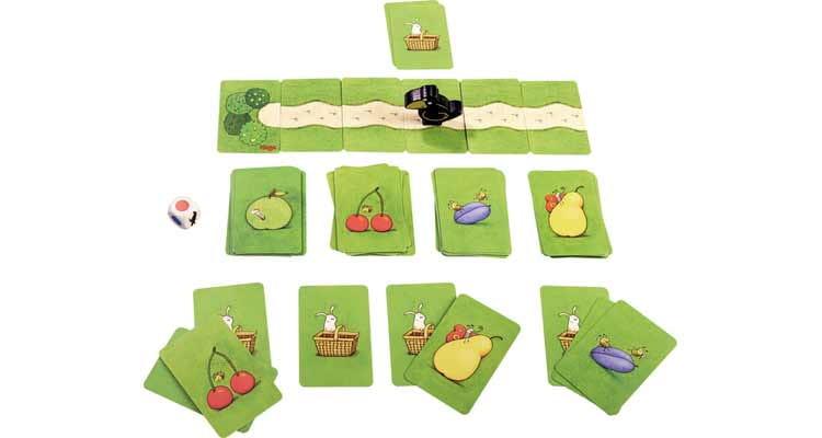 Beliebt: Kinderkartenspiel Obstgarten