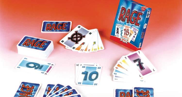 Kartenspiel Rage