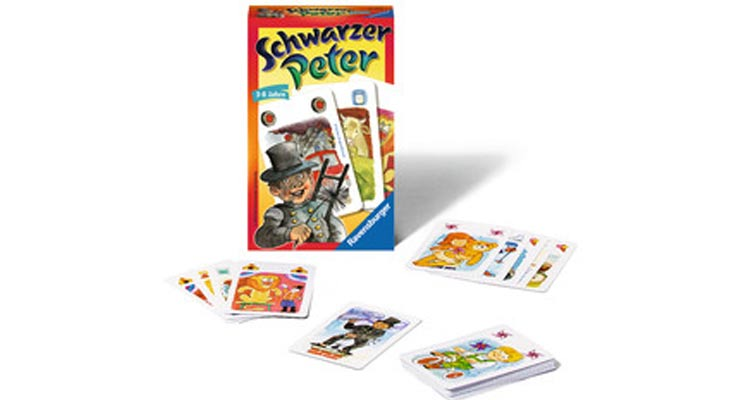 Schwarzer Peter als Kartenspiel von Ravensburger