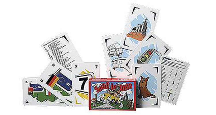 Spaß im Auto - Kartenspiel für Autofahrten