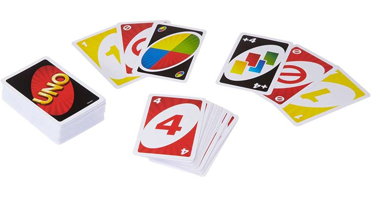 Uno, das beliebte Kartenspiel